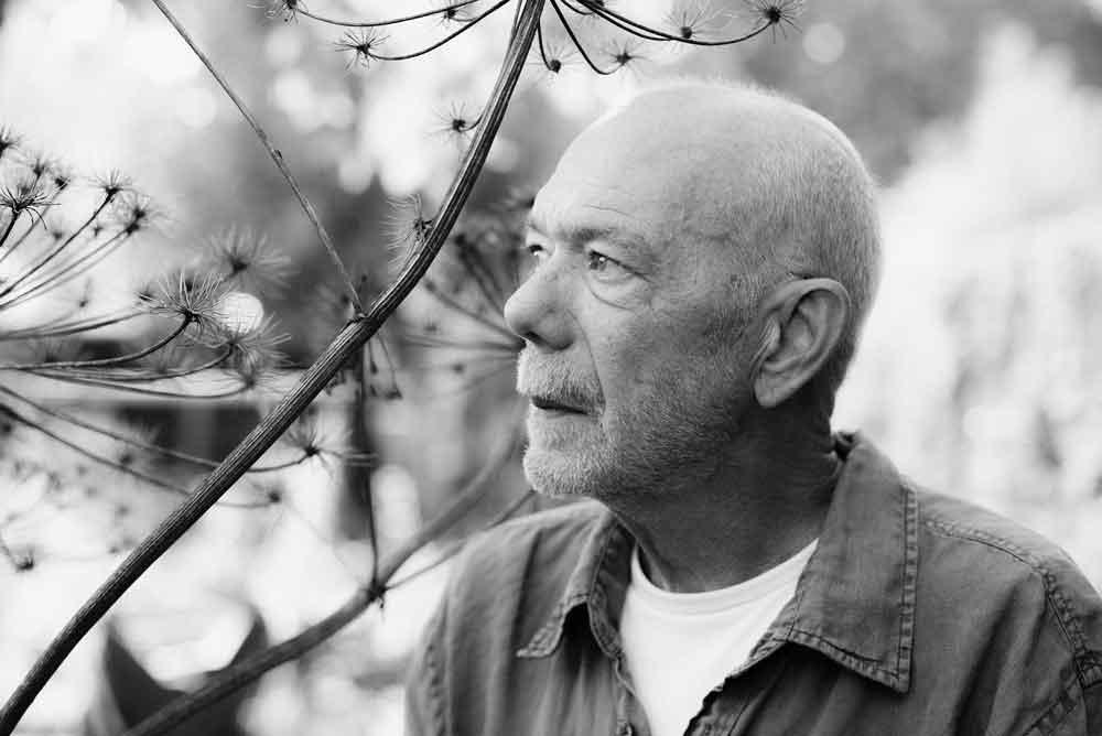 Kunstenaar Bas Berkelmans uit Moergestel. Maakt uit oud ijzer metalen kunstobjecten